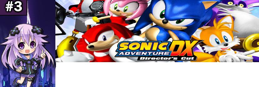 Banner Sonic Adventure DX