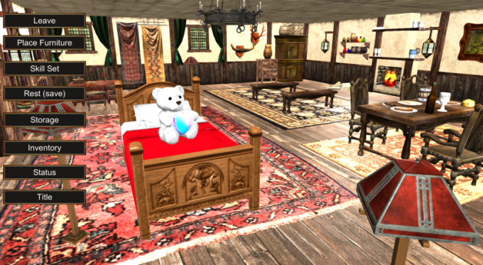 Dungeons and Darkness Furniture