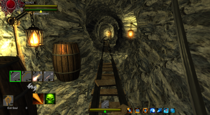 Dungeons and Darkness mines