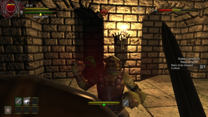 Dungeons and Darkness Ogre