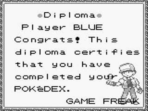 Pokemon Certificate