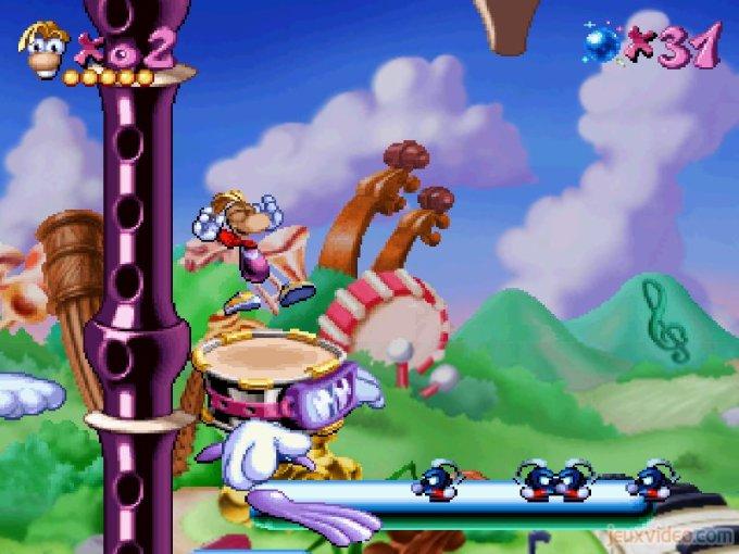 Rayman Bandland