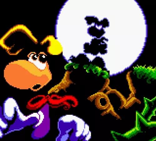 Rayman GBC Dark Rayman
