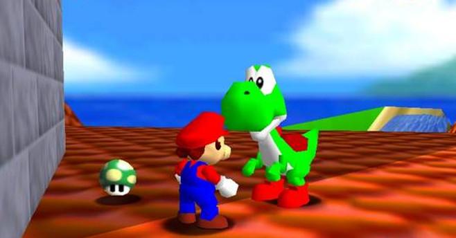 Super Mario 64 Yoshi