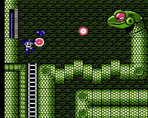 Mega Man 3 Snake Man stage