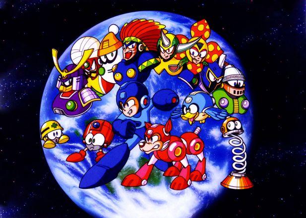 Mega Man 6 Robot Masters