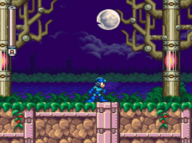 Mega Man 7 Shade Man Stage