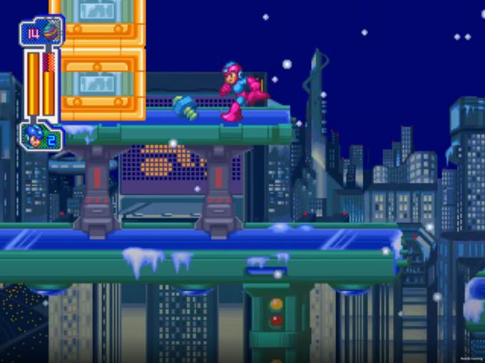 Mega Man 8 Frost Man stage