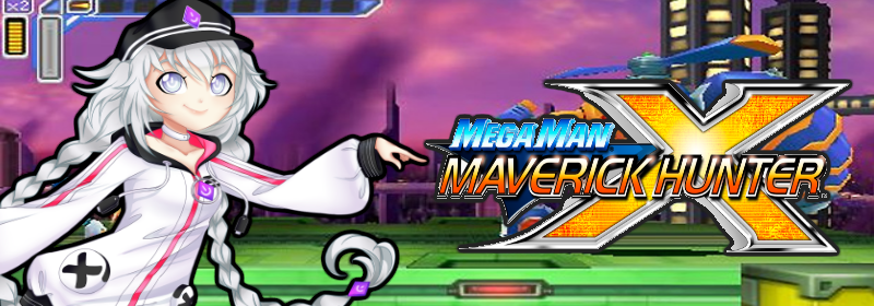 Banner Mega Man Maverick Hunter X
