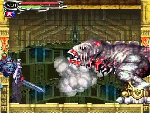 Castlevania Dawn of Sorrow Boss