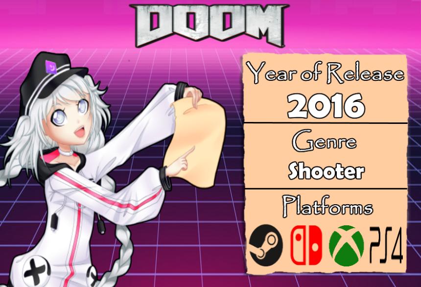 GameDescription Doom 2016