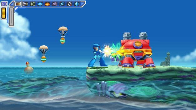 Mega Man Maverick Hunter Stage