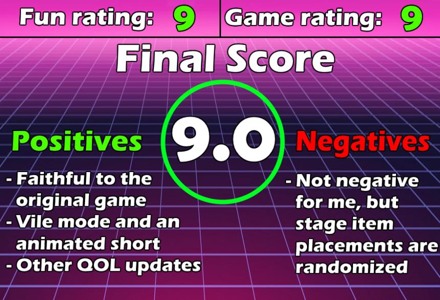 Review Chart Mega Man Maverick Hunter X
