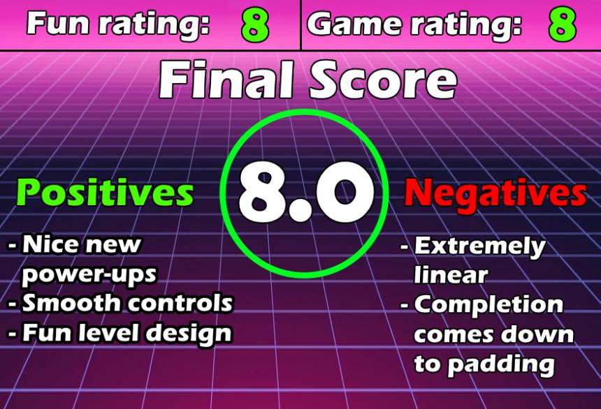 Review Chart Super Mario 3D Land