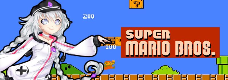 Banner Super Mario Bros