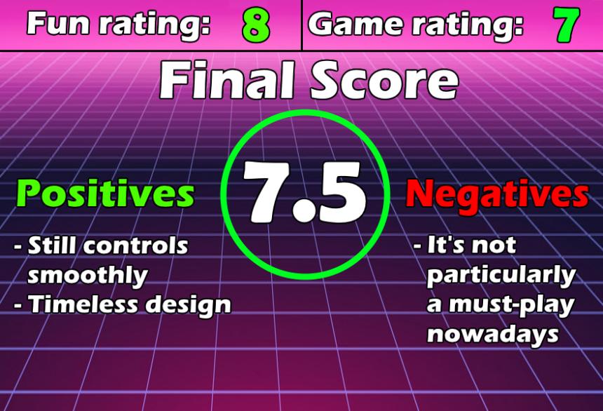 Review Chart Super Mario Bros