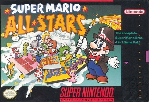 Super Mario All Stars Cover