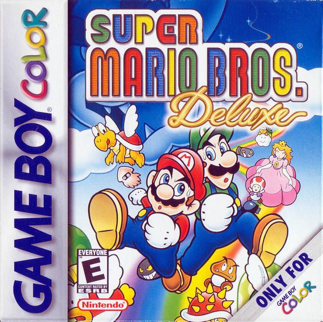 Super Mario Bros Deluxe cover