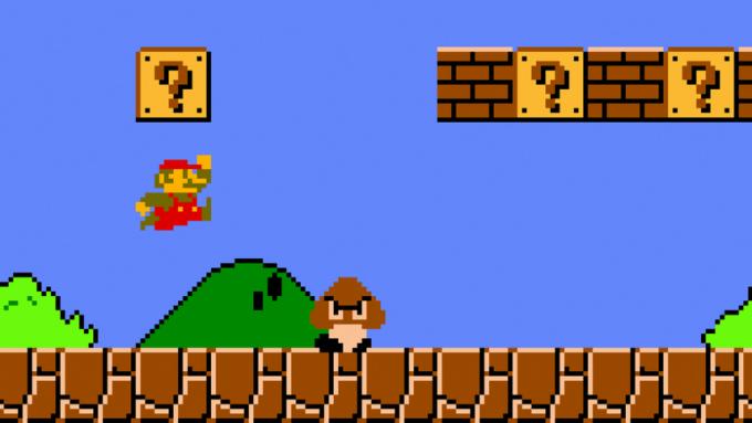 Super Mario Bros graphics