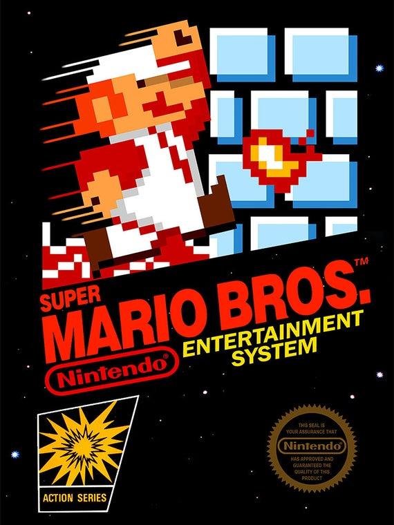 Super Mario Bros NES cover