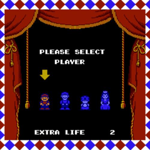 Super Mario Bros 2 character select