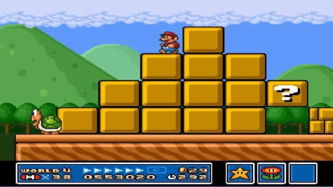 Super Mario Bros 3 big world