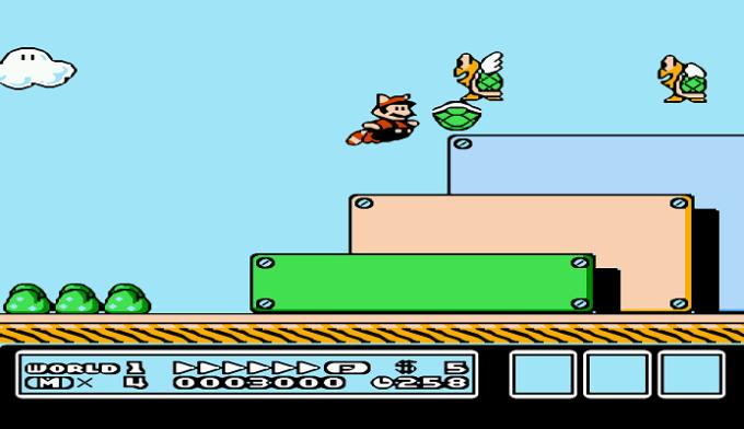 Super Mario Bros 3 Tanooki Leaf