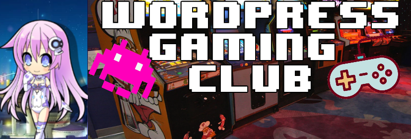 Wordpress Gaming Club Banner