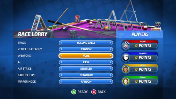 Toybox Turbos Lobby