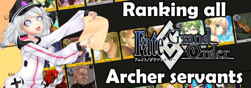 FGO Archer Tierlist Banner