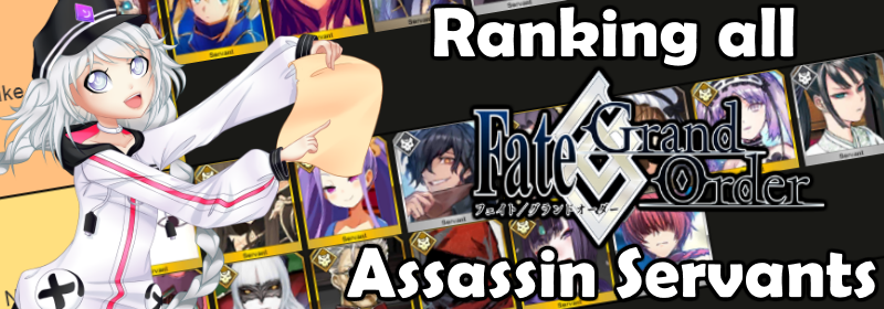 FGO Assassin Tierlist Banner