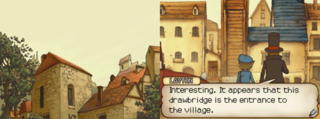 Professor Layton and the Curious Village Dialogue