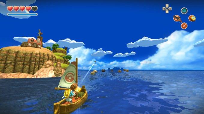 Oceanhorn Sailing