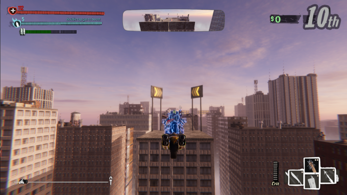 Road Redemption Rooftops