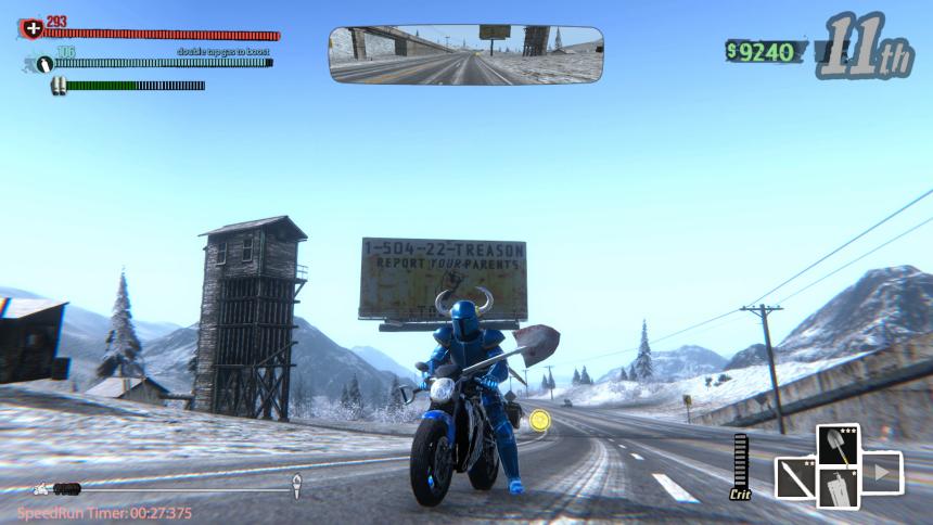 Road Redemption Shovel Knight