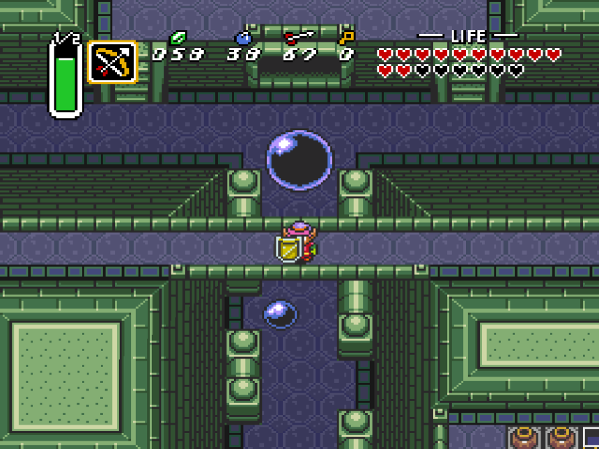 A Link to the Past First Dungeon