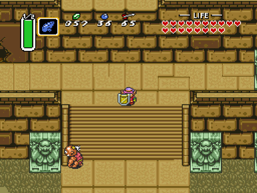 A Link to the Past Hyrule Castle