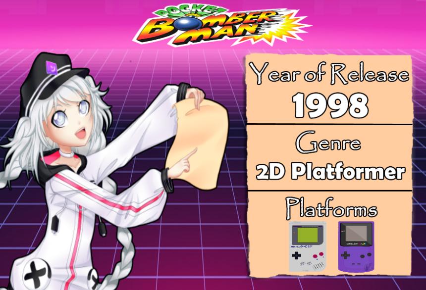 GameDescription Pocket Bomberman