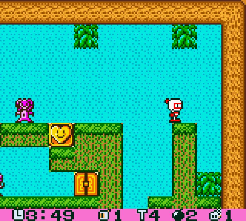 Pocket Bomberman stage