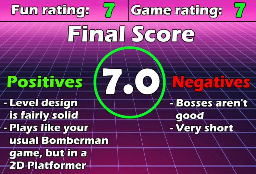 ReviewChart Pocket Bomberman