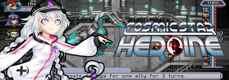 Banner Cosmic Star Heroine