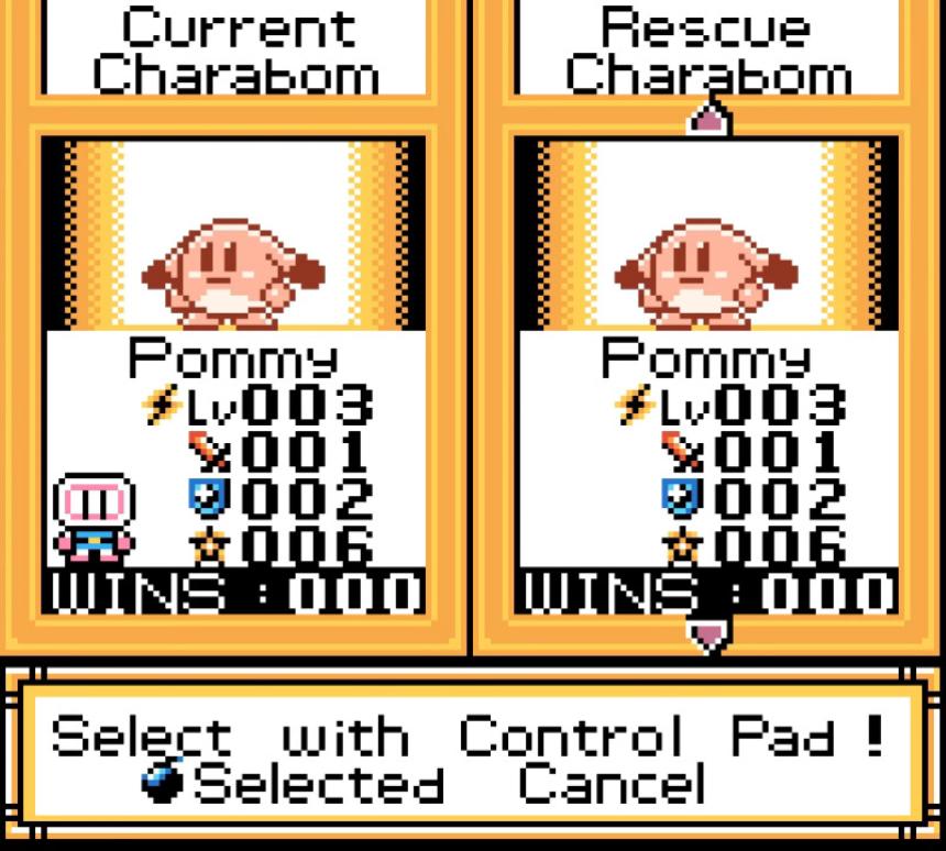 Bomberman Max Charabomb
