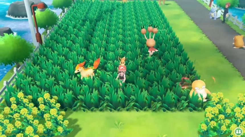 Pokemon Lets Go Route