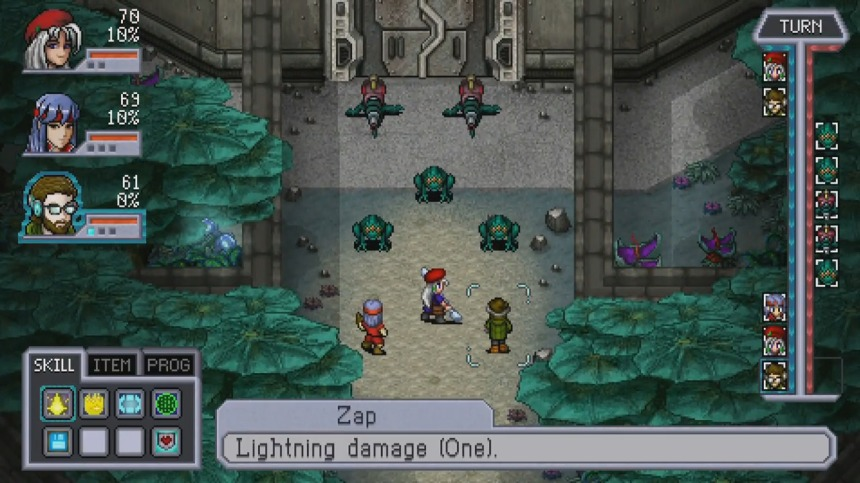 Cosmic Star Heroine - Battle